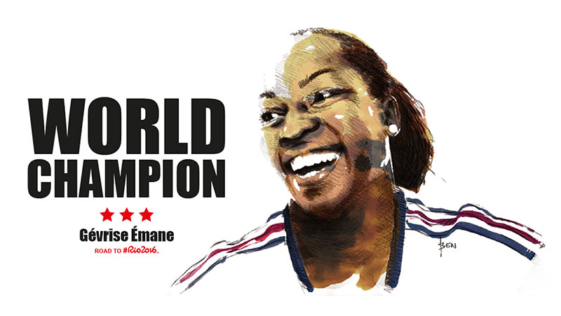 Gévrise ÉMANE - WORLD CHAMPION